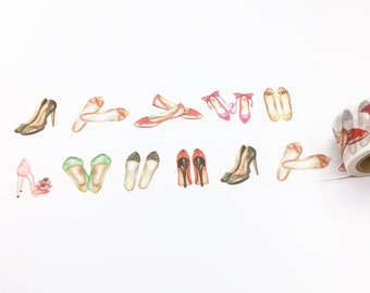 Girl's Shoes Washi Tape