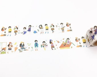 Cute Girls Washi Tape