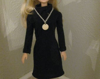 Barbie doll clothes-little black dress