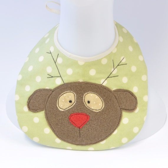 Cute Baby Gifts For Christmas : Christmas baby bib applique cute by susysewandsew