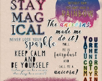 Stay Magical Wordart collab with The Cherry On Top