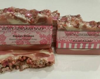 Sweet Kisses Vegan Artisan Cold Process Soap