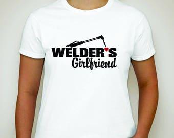 Welder's Girlfriend T-shirt- Welder T-shirt