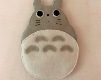 Felt Totoro Pouch