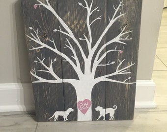 Personalized Tree Wedding Gift