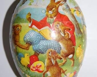 Vintage Papier Mache Easter Egg  - West Germany