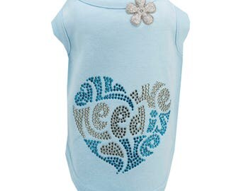 All We Need is Love light Blue T-shirt