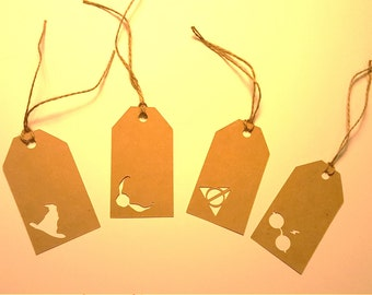 Harry Potter Gift Tags | Set of 12