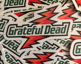 Grateful Dead Gatorade Sticker
