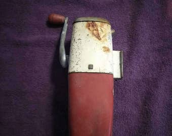 Antique Ice - O - Mat Ice Crusher from Coca-Cola Machine