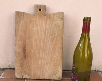 ANTIQUE VINTAGE FRENCH bread or chopping cutting board wood 270320174