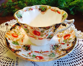 Duchess china teacup and saucer