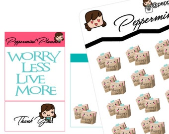 Mini Happy Mail Stickers, {#Mini 07}