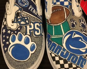 Custom Penn State Vans