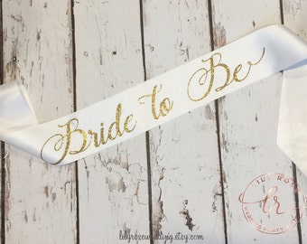 Bride Sash, Bridal Sash, Bachelorette Sash, Bride to be Sash, Mrs Sash, Future Mrs Sash, Glitter Sash, Maid of Honor Sash, Bridal Party Sash