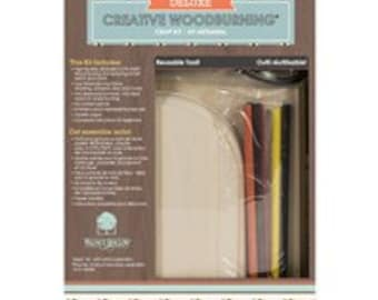 Deluxe Woodburning Kit  Pyrography Craft