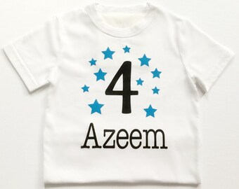 Personalized, birthday, bodysuit, birthday Tshirt, first birthday, second, third, fourth, fifth, 1, 2, 3, 4, 5, baby gift, girl, boy, shirt