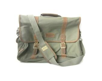 Vintage Bag, Field and Stream, Canvas Bag, Briefcase, Vintage Messenger Bag, Outdoor Gear, Shoulder Bag, Crossbody, School Bag, Laptop Bag