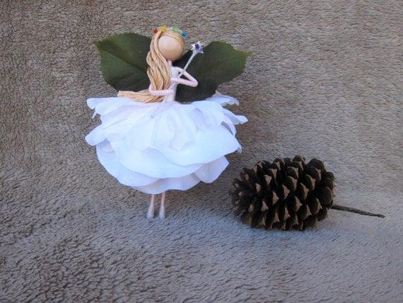 Items Similar To Christmas Flower Fairy Tree Topper