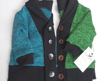 Blue Grandpa Cardigan, Green Grandpa Cardigan, Baby Cardigan, Kidswear, kids cardigan, cardigan, sweater, Baby Clothes, Baby Clothing