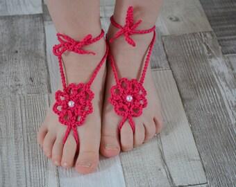 Barefoot sandal, Barefootsandal, baby, child, child - crochet