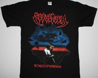 Sepultura Schizophrenia black t shirt