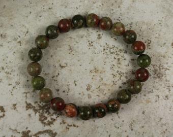 """Unikite Beaded Stretchy Bracelet 2""""width/4mm Beads - #444"""
