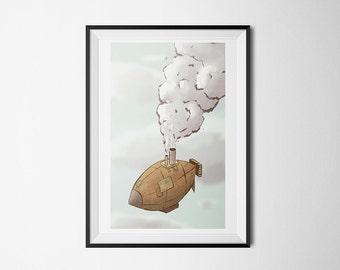 Steam Zeplin