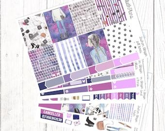 Fashion Blogger | Fashion, Social Media, Blogging, Lifestyle, Planner Stickers, FULL KIT