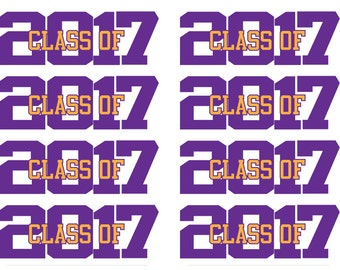 60 Graduation Stickers - 2017 Grad Stickers - 2017 - Grad Stickers - Graduation Stickers - Graduation Labels - Graudation - Graduate