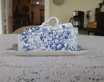 James Kent Old Foley 18th Century Chintz Cheese Tray