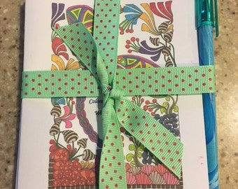 Dragonfly Blank Note Cards (5)  Includes Envelopes and Ink Pen