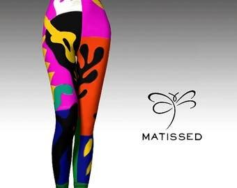 Matissed  Women's 'ArtWear' leggings
