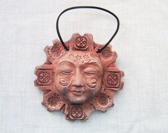 Ceramic Panno Sun - Slavic Symbols