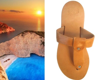 T Strap Sandals, Brown Thong Sandals, Leather Thong Sandal, Greek Thong Sandals, Greek Sandles, Flat Sandals, Sandali Greci, Brown Sandals