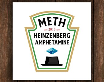 Heisenberg - Heinz Poster.