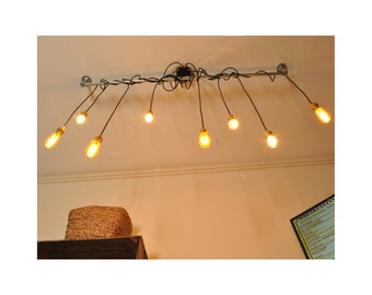 steampunk lighting. the tinker chandelier new industrial style vintage retro lighting works with led bar restaurant steampunk