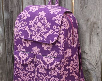 Edelweiss Backback Kit featuring Tabby Road by Tula Pink