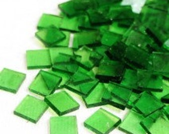 Mini Stained Glass - Clear Acid Green- 50g