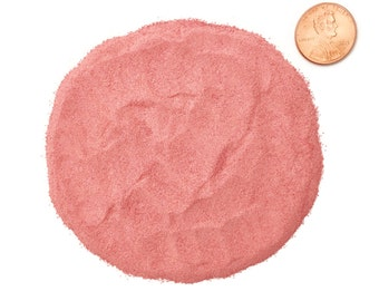 Crushed Red Coral Stone Inlay, Lab Created, Powder, 1/2 Ounce