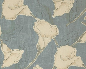 Calla Ocean - Magnolia Home Fashions - Upholstery Designer Fabric By The Yard