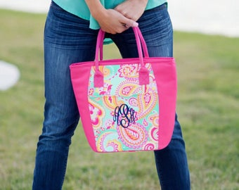 Monogrammed Cooler Tote, Personalized Cooler