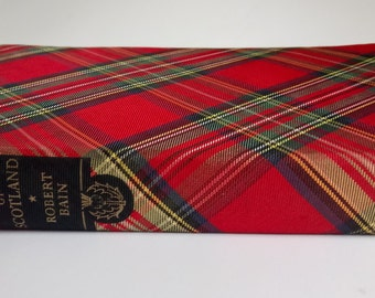 The Clans And Tartans Of Scotland Robert Bain Cloth Cover Tartan Book