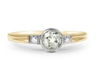 Art Deco Diamond Vintage Ring