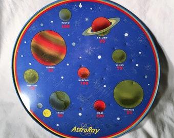 Astro Ray Tin Litho Space Target