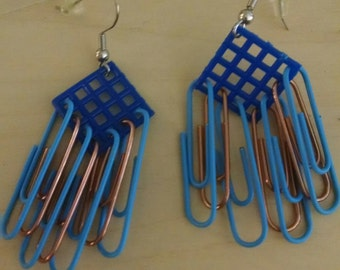 Small Ravenclaw Earrings (blue)