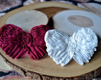 Shabby chic butterfly hair clip set