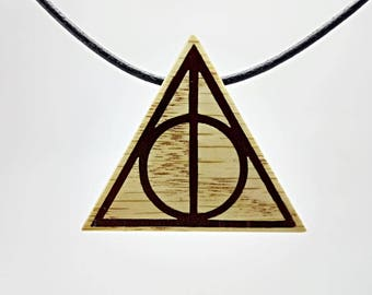Hanging Harry potter Deathly Hallows