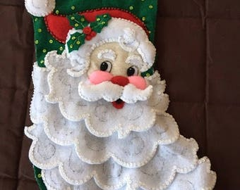 "A handmade 18"" Christmas Stocking"