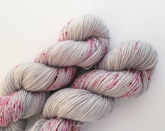 Lady Murasaki - Starlet Sock (Silver Stellina, Superwash Merino)